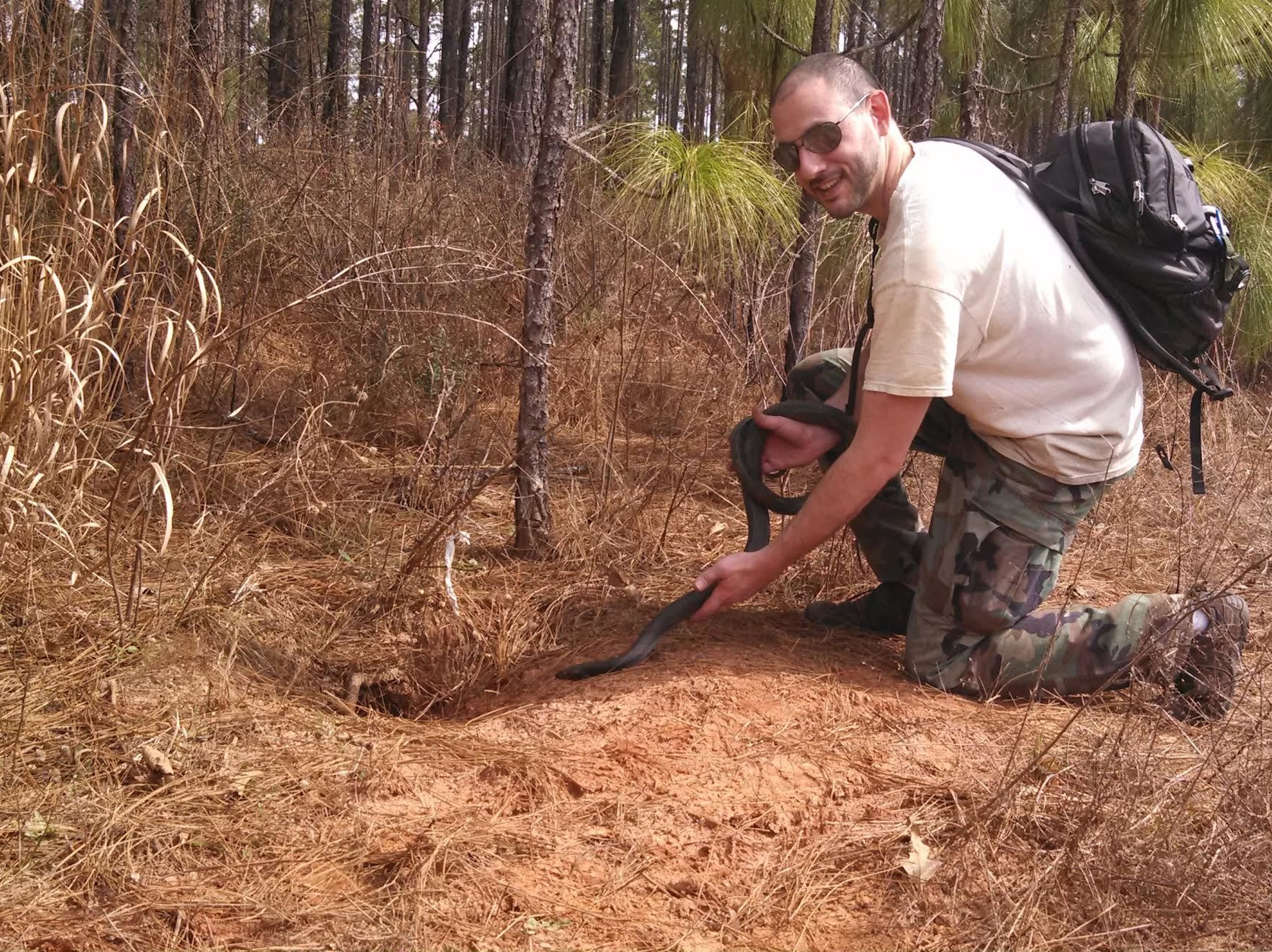 Meet Dr. David Steen, the Man Saving Snakes on Twitter