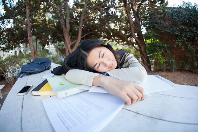 sleep, procrastination
