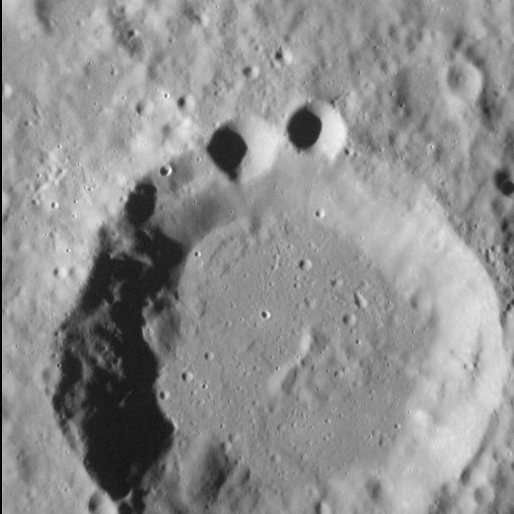 Some Cookie Monster craters on Mercury.
