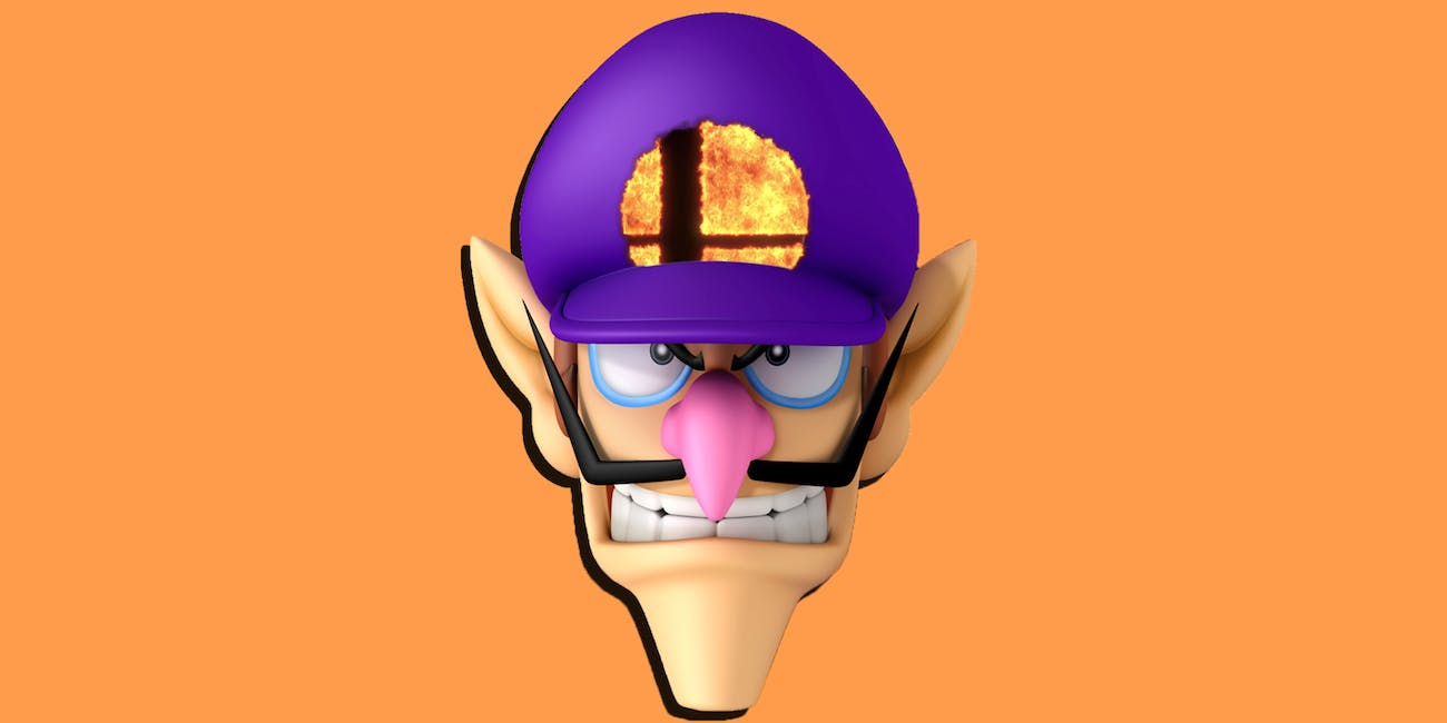 Waluigi deserves to be in super smash brothers ultimate