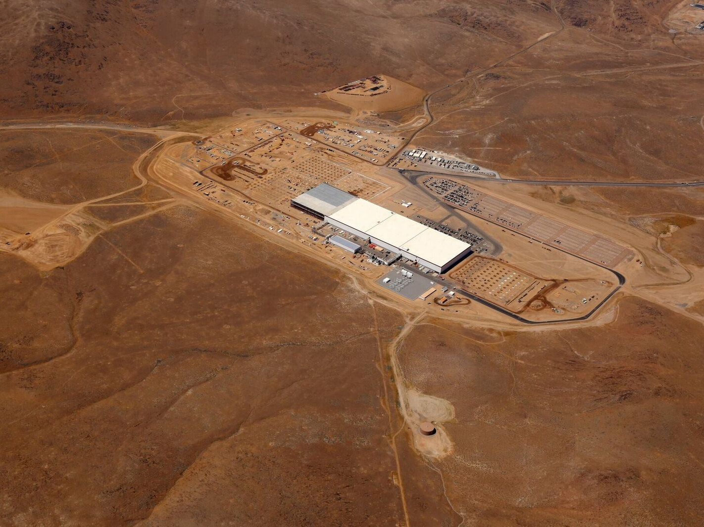 Inside the Gigafactory Ahead of the Rager