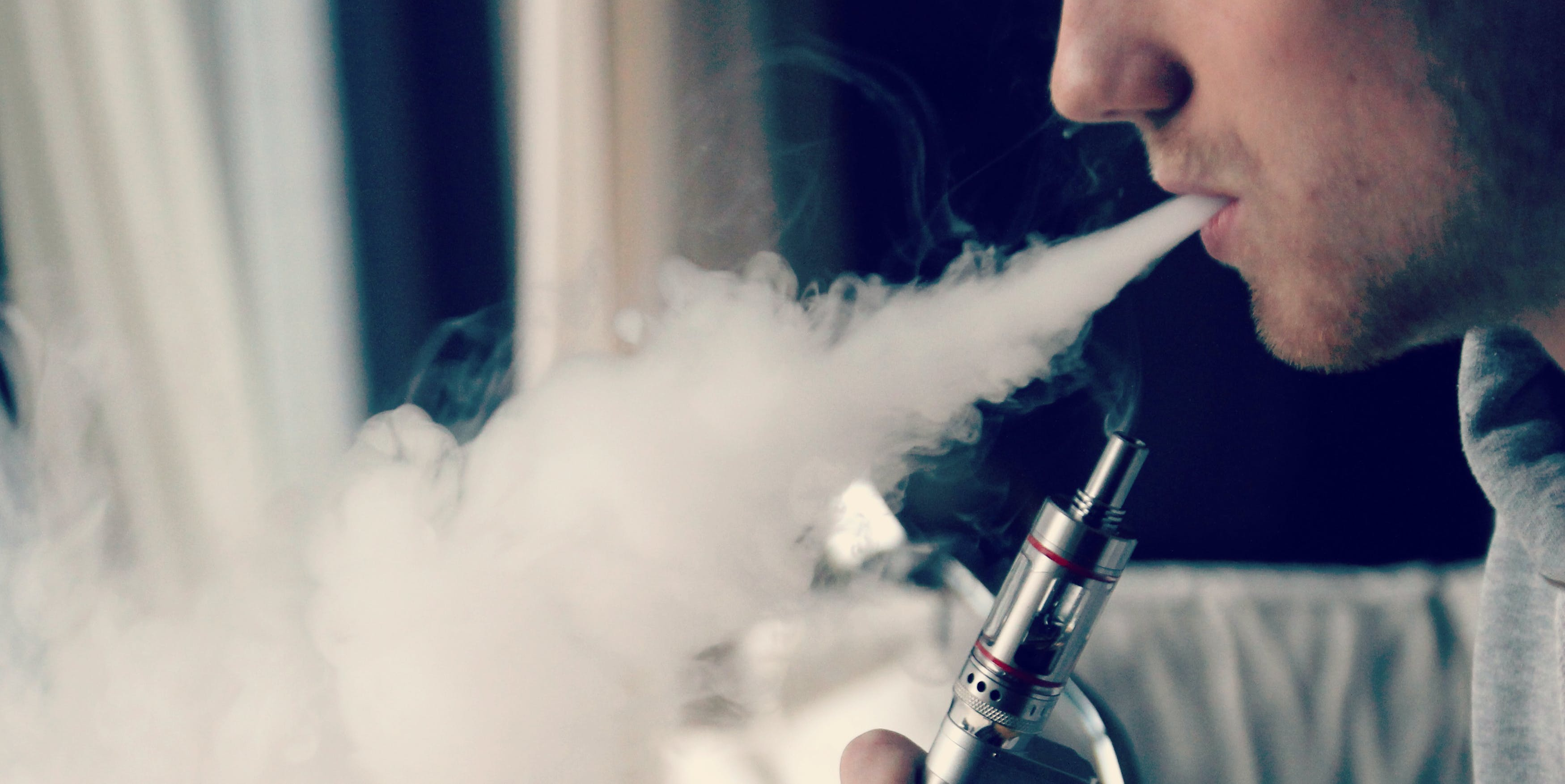 Vaping may reduce your cough.