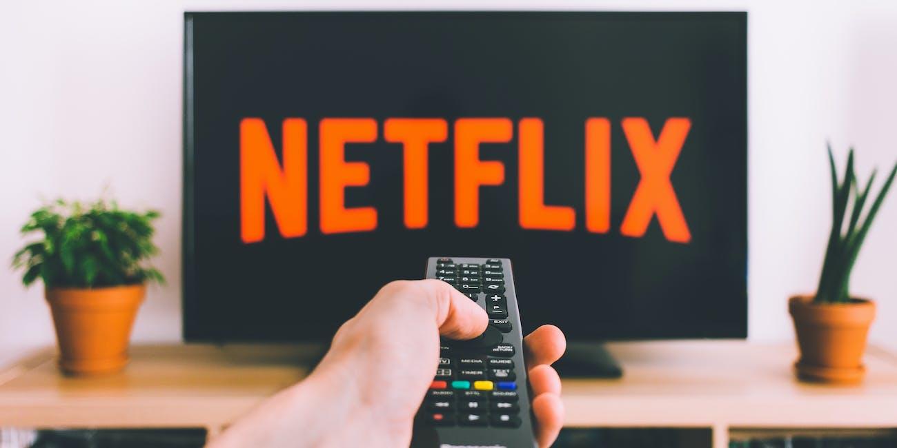 Netflix on a TV