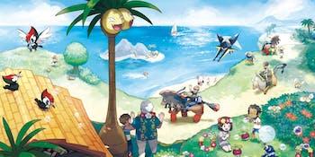 Pokemon Sun and Moon Nintendo 3DS