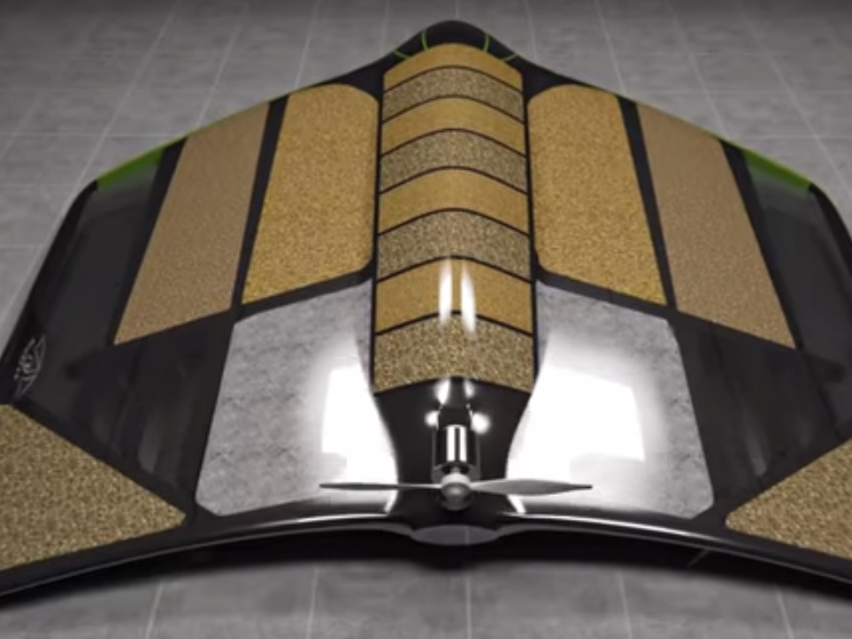 This New Drone Can Be Used For Food, Fuel and Shelter