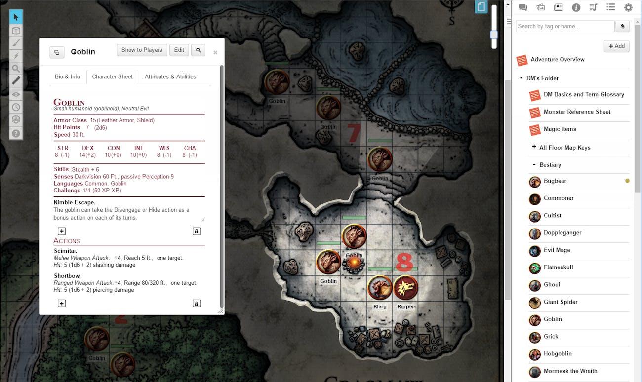 Roll20 Adds Official 'D&D' Module | Inverse