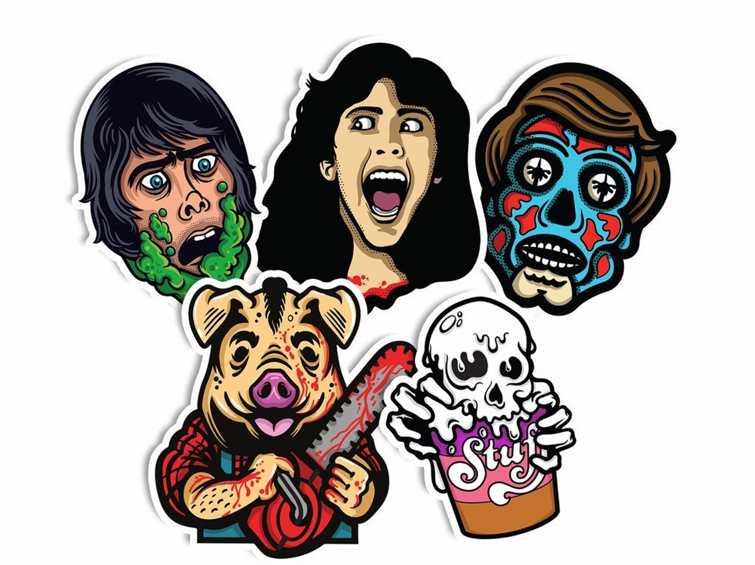 How Creepy Co. Turns Horror Icons Into Wearable Art