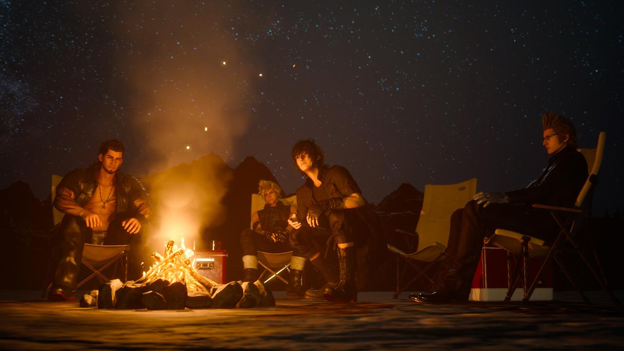 Camping. It's intense.