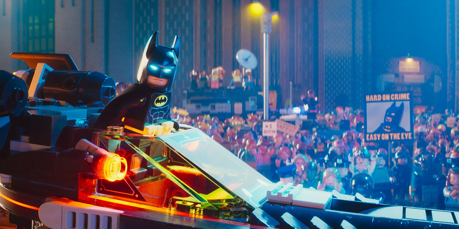 All the Deep Cut Easter Eggs in 'The Lego Batman Movie'