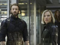'Avengers: Infinity War' Steve Rogers Black Widow