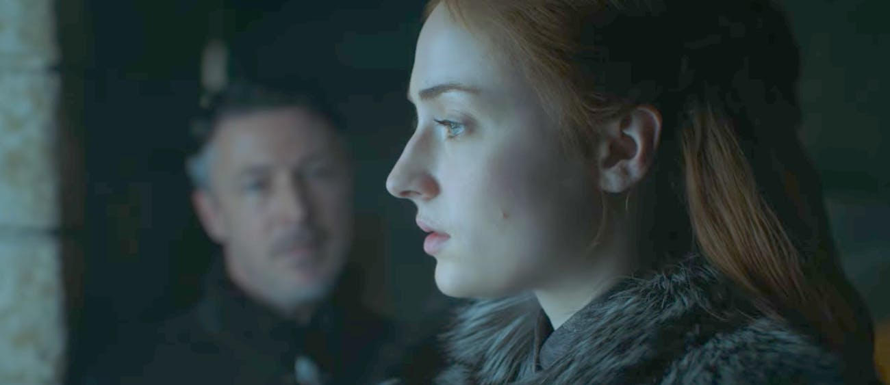 Sophie Turner in 'Game of Thrones' Season 7