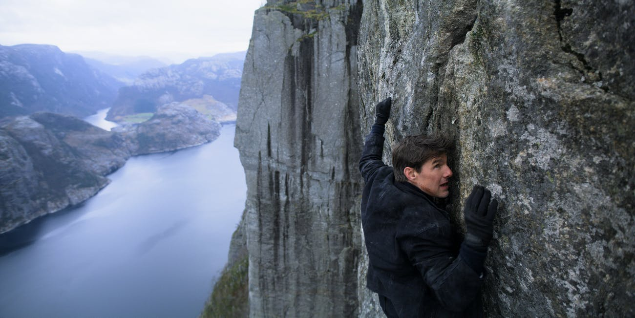 Mission Impossible Fallout Rock Climbing