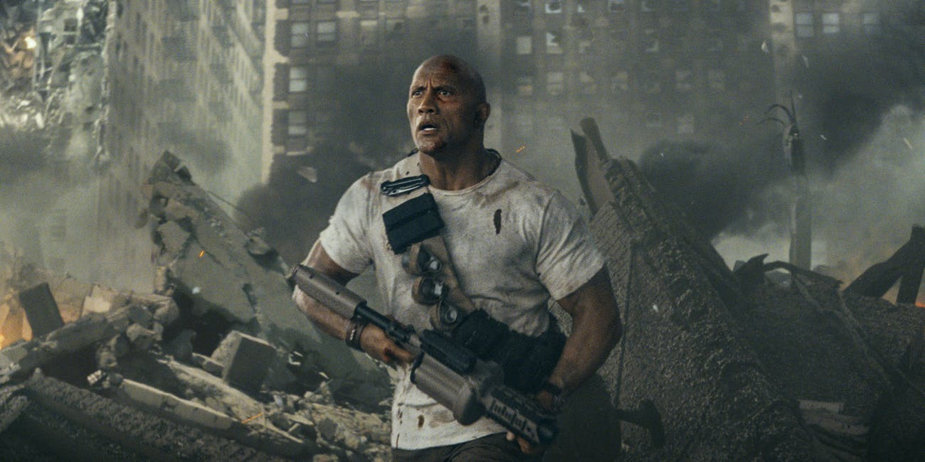 The Rock Explains Kaiju Movies In Rampage Japan Trailer