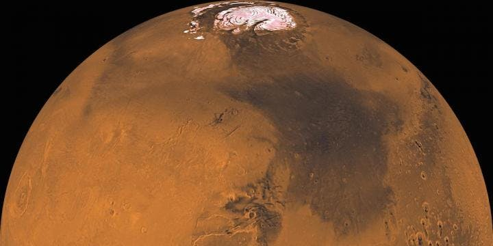 The mineral composition of certain meteorites may have led to extra water on early Mars.