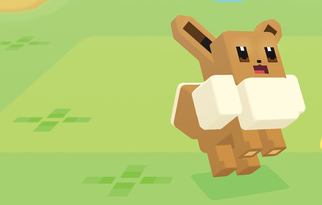 Eevee in 'Pokémon Quest'