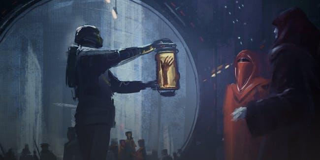 Luke severed hand fred palacio ilm art