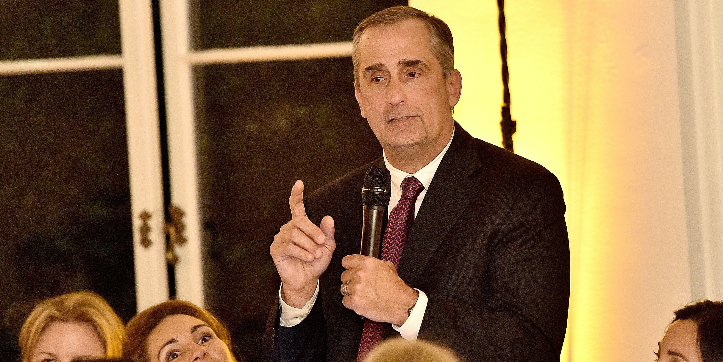 Brian Krzanich,CEO of Inteland chairman of the FAA's Drone Advisory Commitee,attends The Dinner For Equality co-hosted by Patricia Arquette and Marc Benioff on February 25, 2016 in Beverly Hills, California.