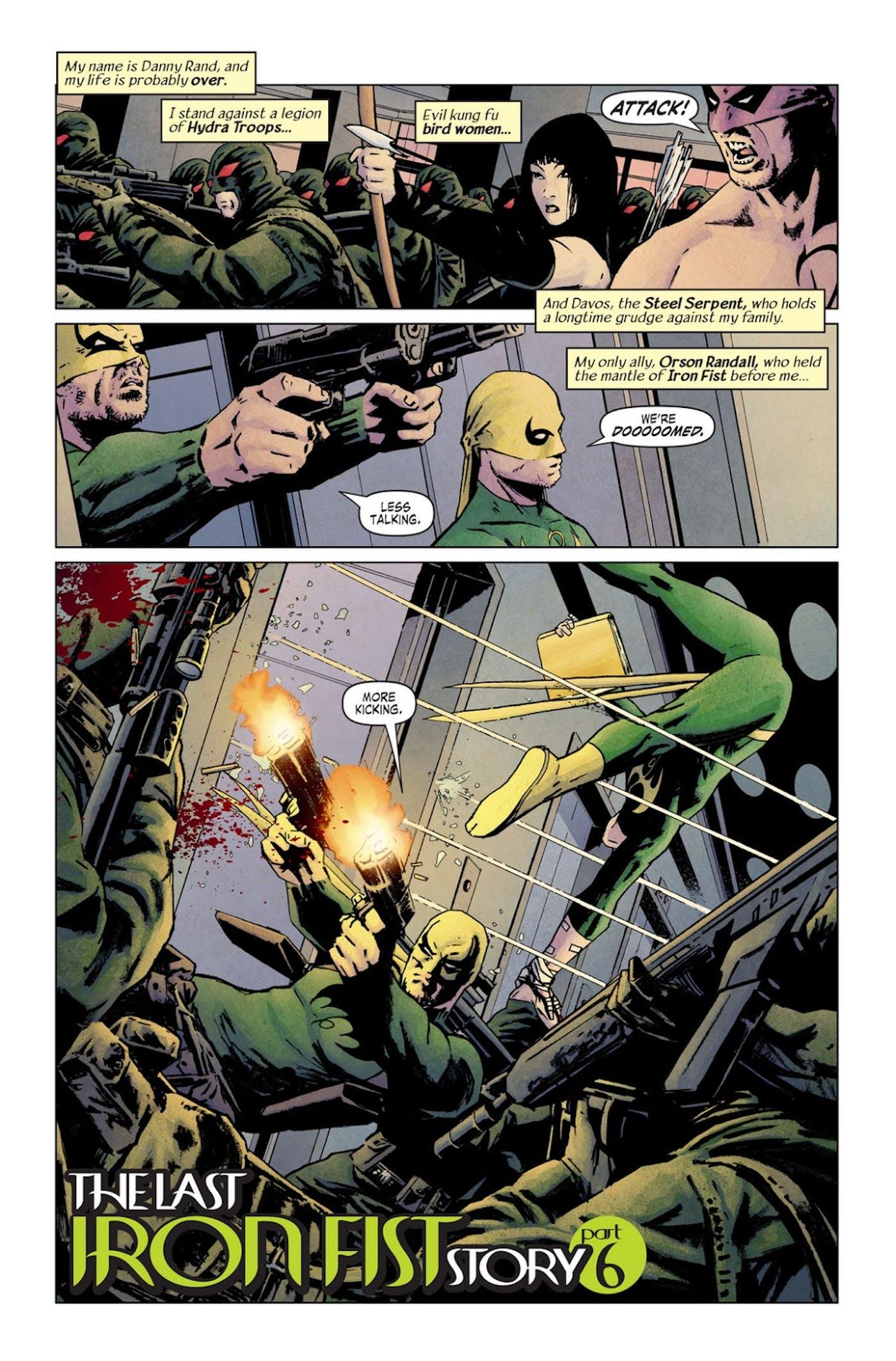 Iron Fist' Season 2 Ending: Danny's Guns and Orson Randall