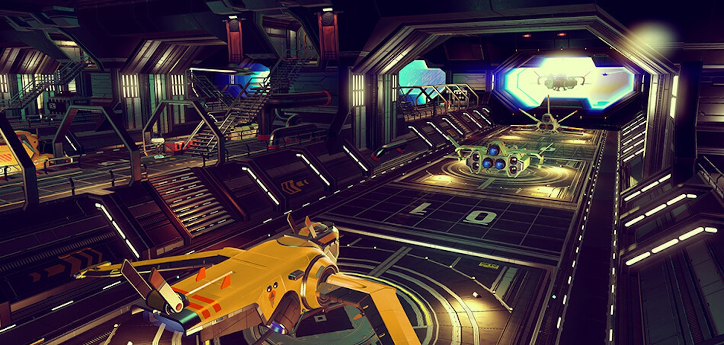 You can expand your trading empire by purchasing interstellar freighters
