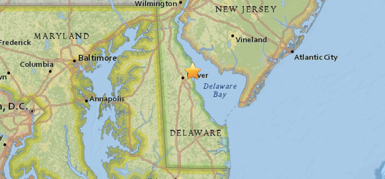 earthquake east coast nyc baltimore november 30