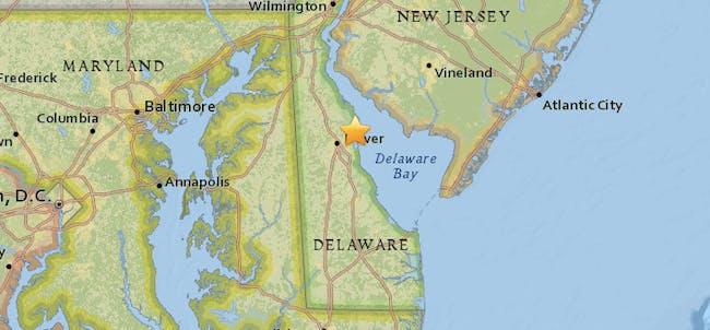 earthquake east coast nyc baltimore november 30