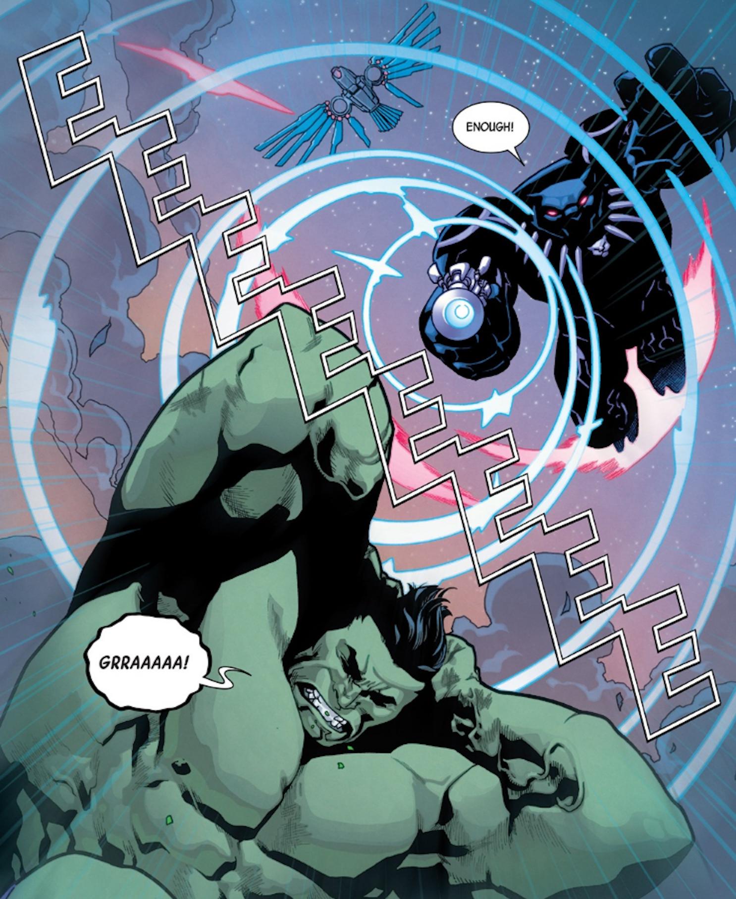 Hulk vs Black Panther
