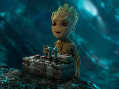 There's Exactly the Right Amount of Baby Groot in 'Guardians 2'