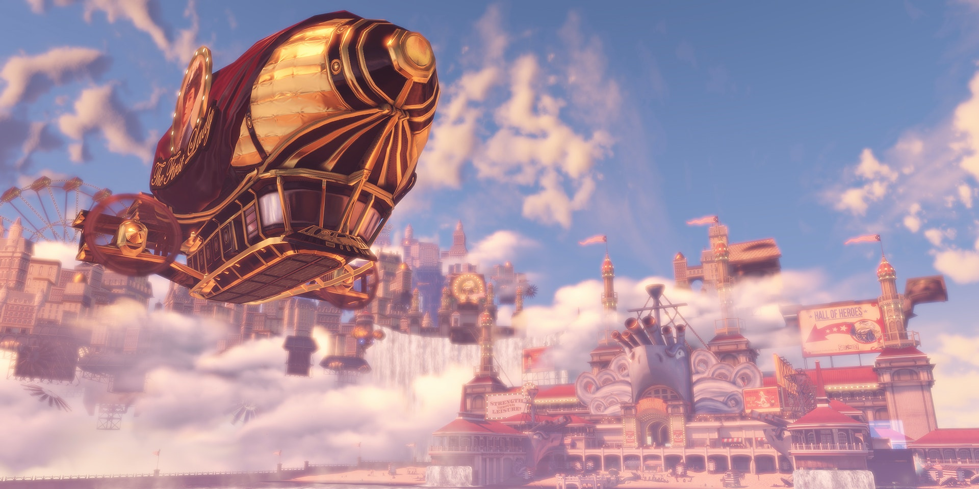 The Floating City In 'BioShock Infinite' Could Exist IRL