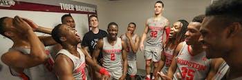 NCAA basketball Houston