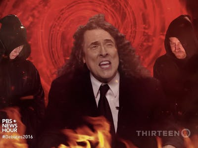 """Weird Al Spoofs Clinton and Trump in """"Bad Hombres, Nasty Women"""""""