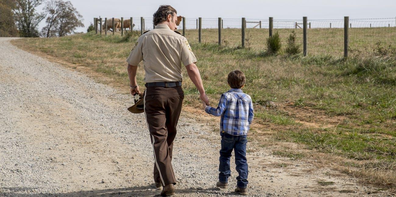 The Walking Dead Season 8 Carl