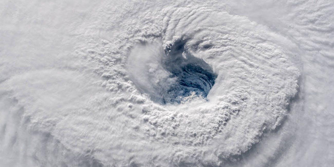 Hurricane Florence churning over the Atlantic