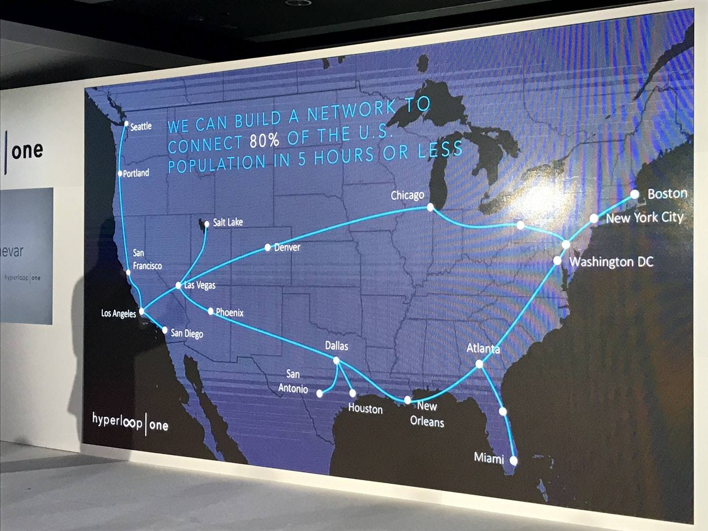 How Realistic Is This Hyperloop One Future Map of the US Inverse