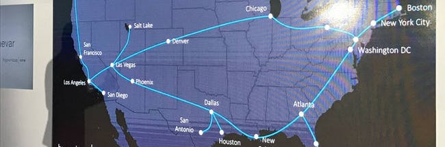 How Realistic Is This Hyperloop One Future Map Of The US Inverse - Future map of the us