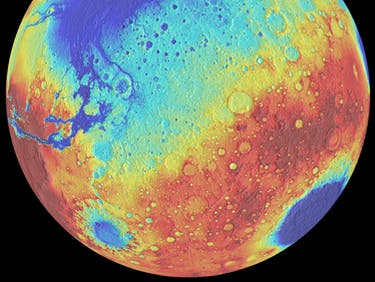 Mars' Craters Can Teach Us About the Evolution of the Solar System