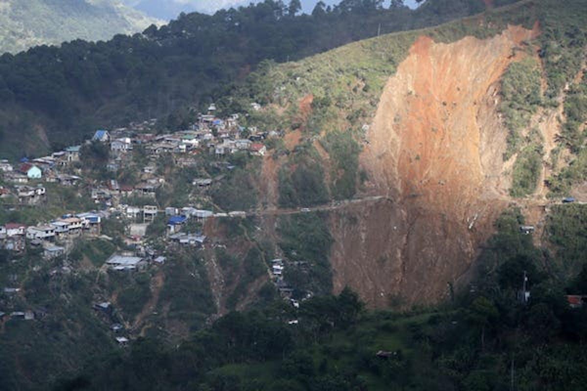 mudslide Philippines