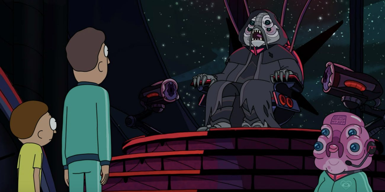 rick and morty sam neill