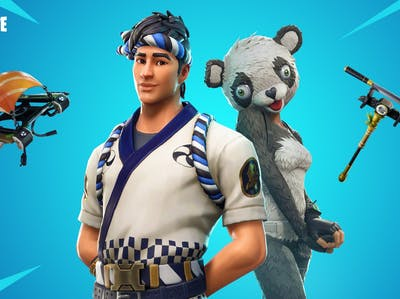 Fortnite Suhi and Panda
