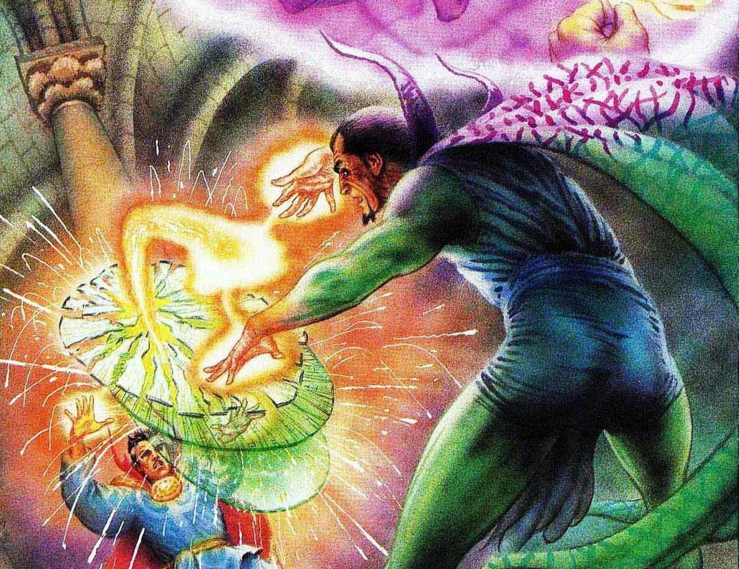 Doctor Strange vs. Baron Mordo