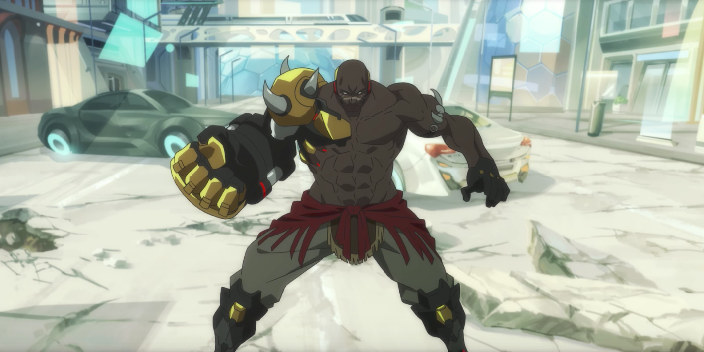 Doomfist is the newest playable character in overwatch