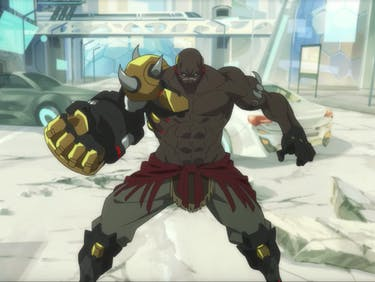 Doomfist is the newest playable character in 'Overwatch.'
