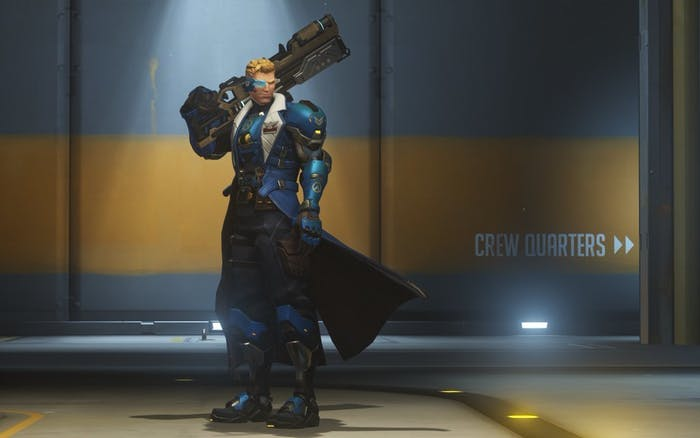 In the canon version of Uprising, Strike Commander Morrison provides intel and support from the coms.