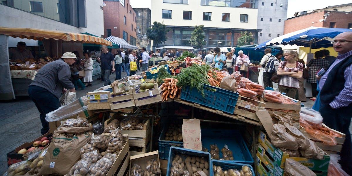 The Farmers Market - Temple Bar