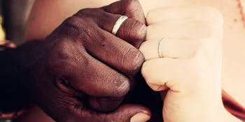 The relationship between online dating and interracial relationships.