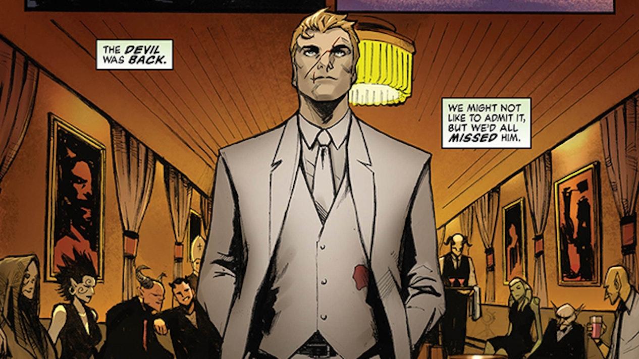 Lucifer Holly Black Vertigo DC Lee Garbett
