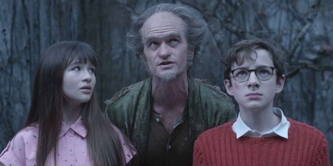Neil Patrick Harris as Olaf in 'A Series of Unfortunate Events'