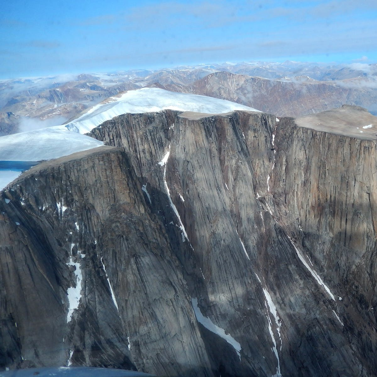 Climate Change Reveals the 40,000-Year-Old Lost Landscape of Baffin Island