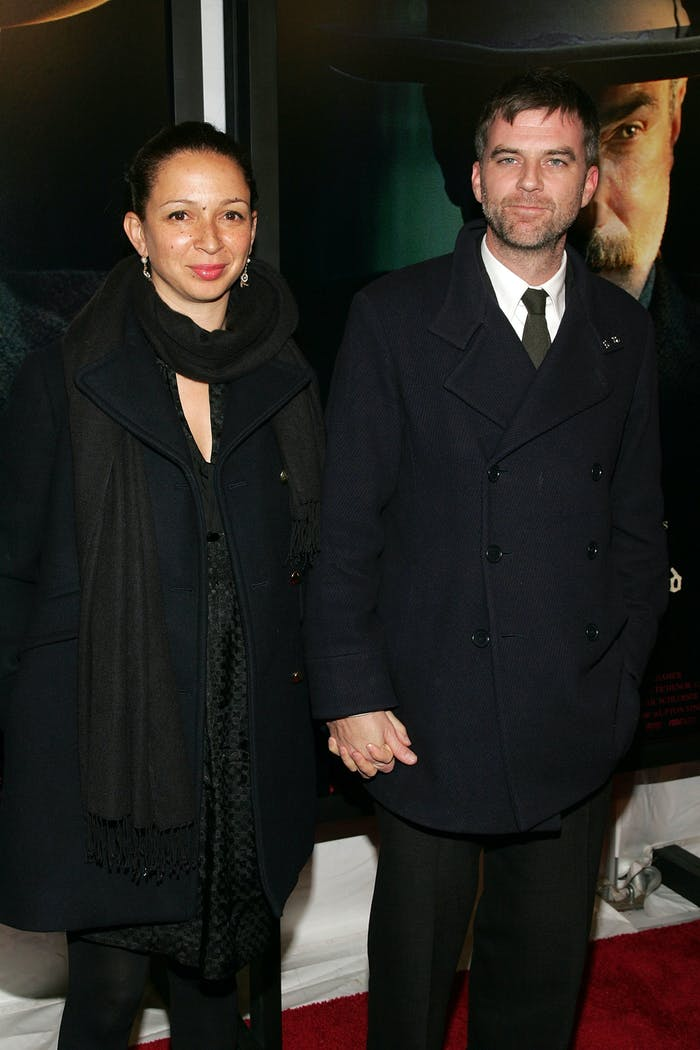 Director Paul Thomas Anderson (R) and actress Maya Rudolph both appear in 'Documentary Now!'
