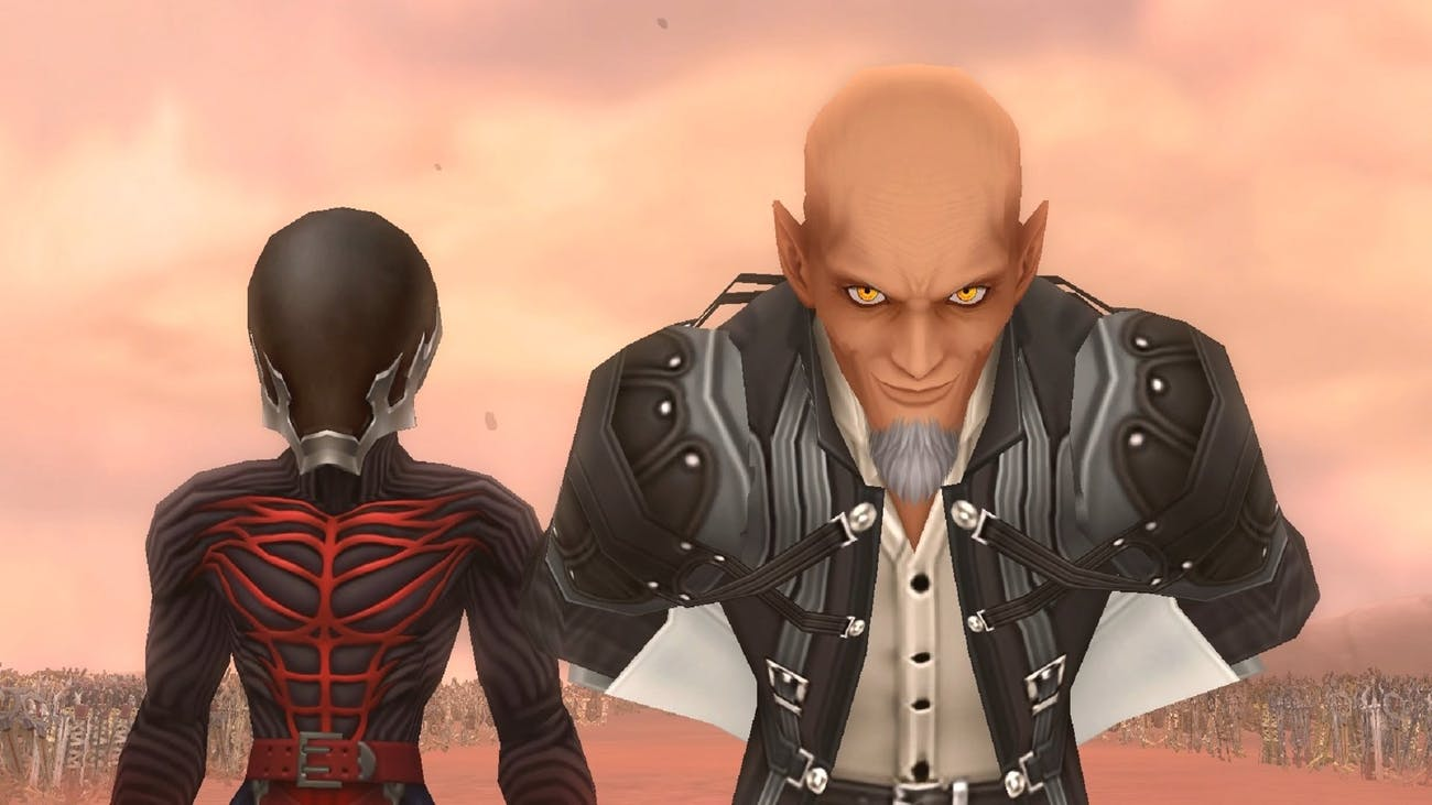 Vanitas and Xehanort in 'Birth By Sleep' are the main antagonists.