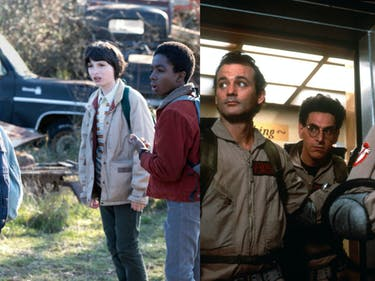 Retro 'Ghostbusters' Cosplay in New 'Stranger Things' Super Bowl Ad